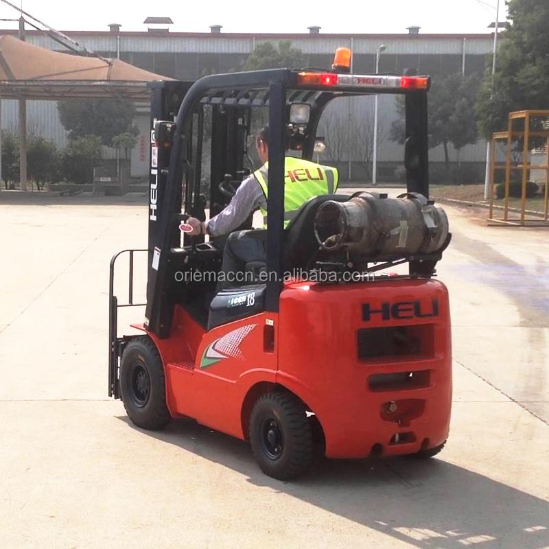 Heli 1.5Ton Hand Forklift LPG Forklift Trucks CPQD15