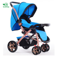 china factory beatiful baby strollers and peg perego baby stroller with baby toddler stroller on sale