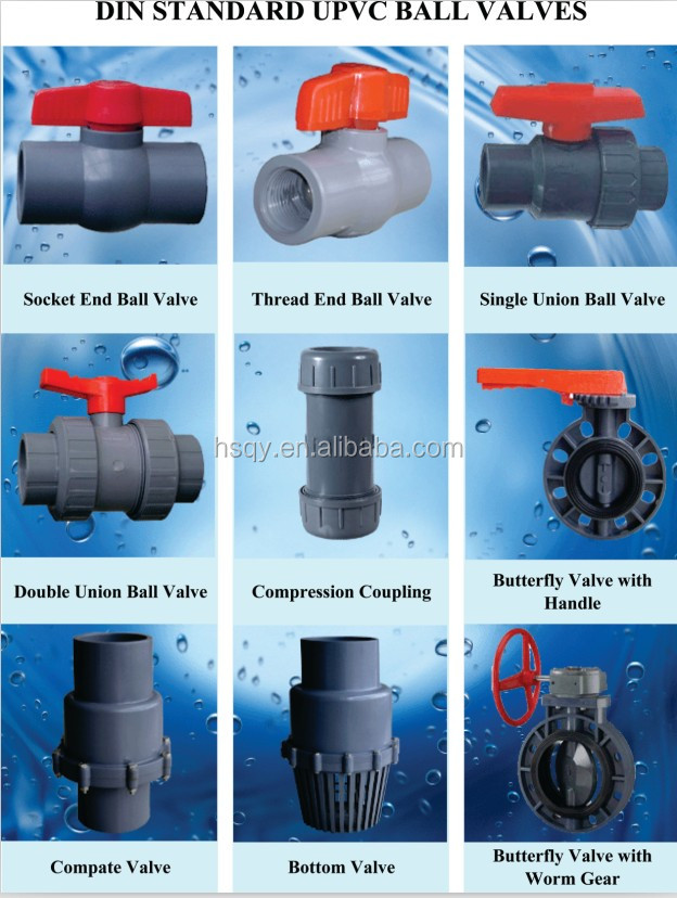 Types of plastic pipes for House water pipes types