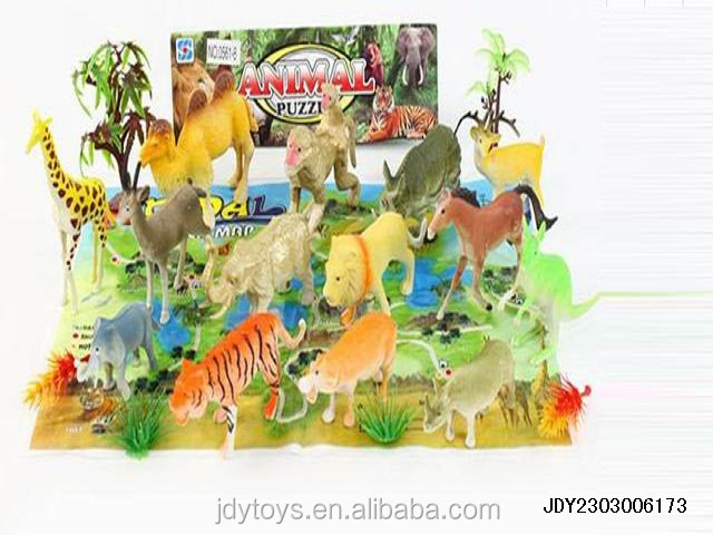 Hot Selling Kid Toy Poultry And Wild Animals With Map,Wholesale ...