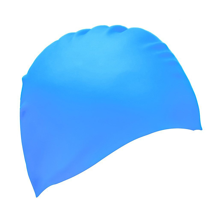 Wholesale New Coming Oem Physical Sport Silicone Swimming Cap