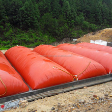 cow pig chicken manure dung big biogas plants balloon bag equipment