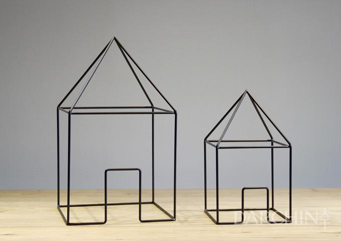 new design handmade metal craft building shape metal. Black Bedroom Furniture Sets. Home Design Ideas