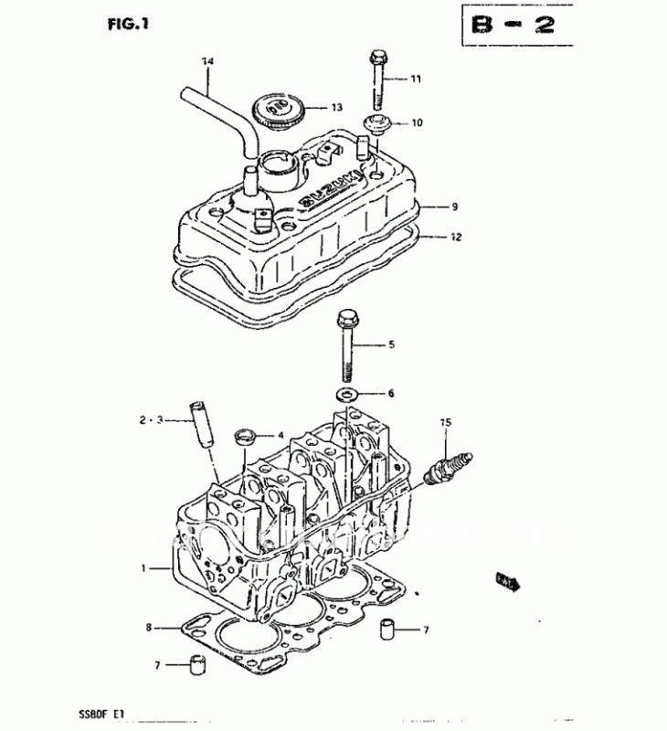 SUZUKI ST308 ST90 MARUTI800 MEHRAN CYLINDER HEAD china suzuki mehran, china suzuki mehran manufacturers and maruti 800 wiring diagram pdf at edmiracle.co