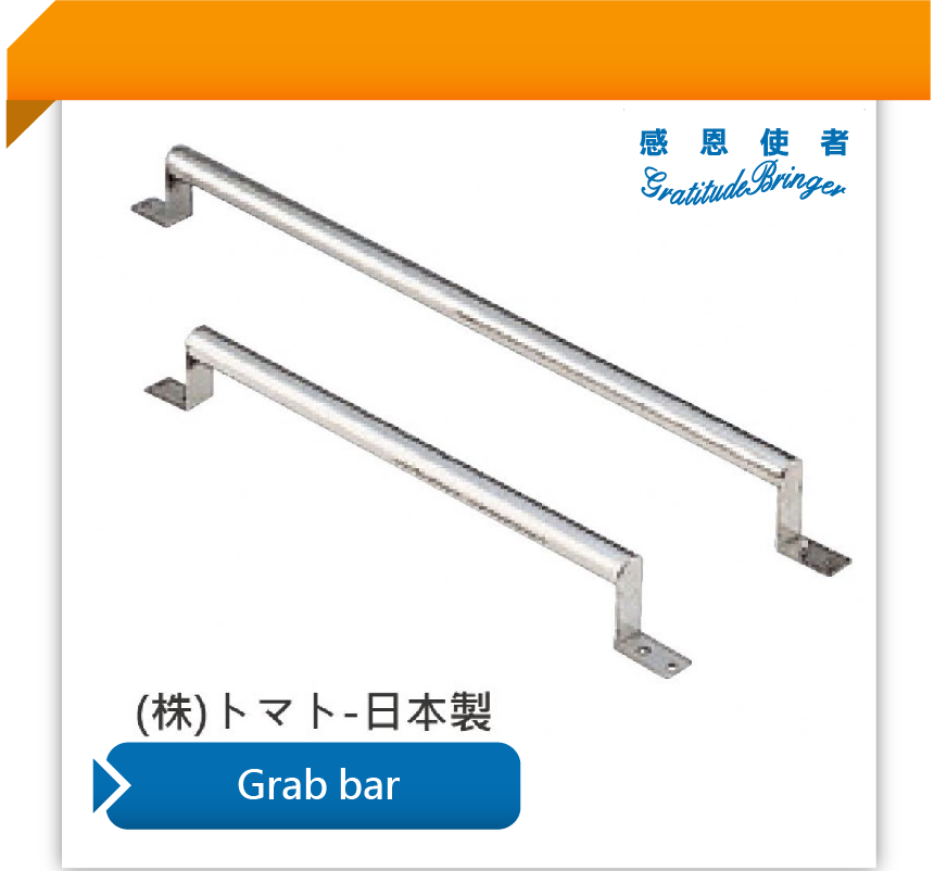 Safety Stainless Steel Toilet Grab Bar 60 cm for Sale