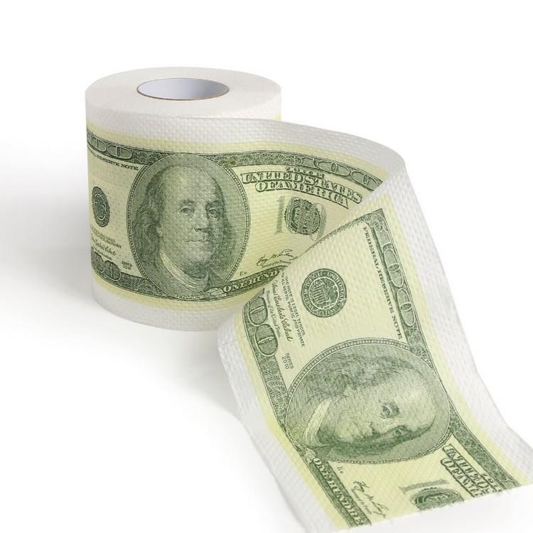 Factory Wholesale Dollar Money Novelty Custom Printed Toilet Paper - Buy  Printed Toilet Paper,Custom Printed Toilet Paper,Novelty Printed Toilet  Paper