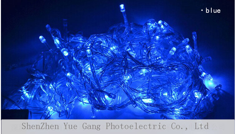 Color Changing String Light Outdoor Christmas Led String Light ...