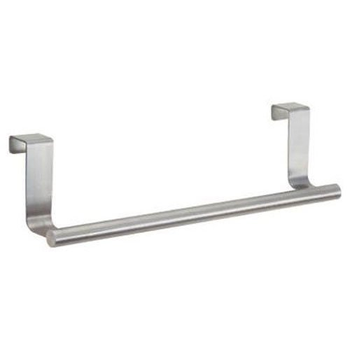 "InterDesign Forma Over Cabinet 9"" Towel Bar, Brushed Stainless Steel"
