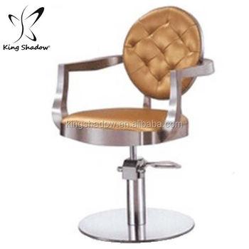 Kingshadow Golden Portable Salon Chair Modern Chairs Furniture Salon