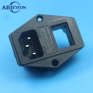 High Quality 2* 4 Inch 3 Pin British Socket With Fuse
