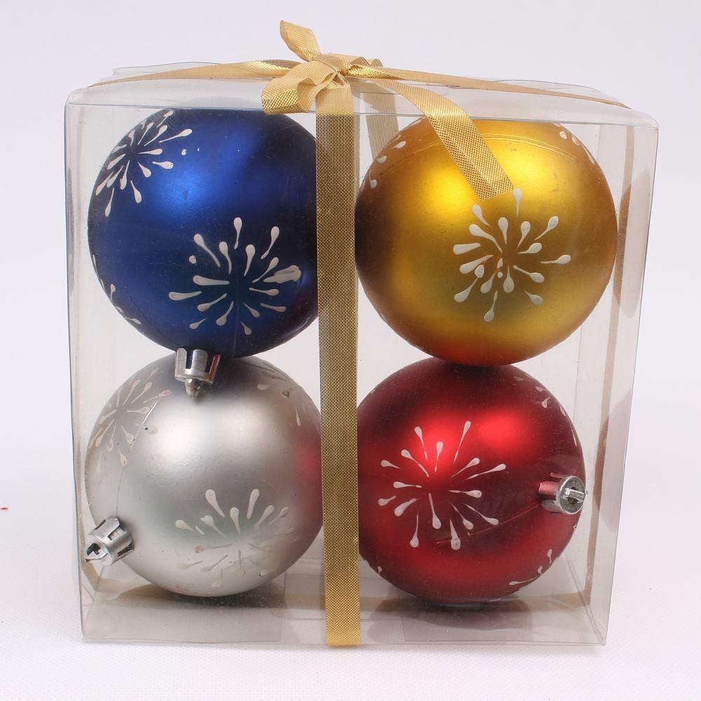 Plastic Wholesale Shatterproof Christmas Ball Ornaments