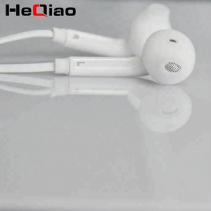 Cheapest Flat Cable Mobile Earphone For Samsung Galaxy S6 Earphones
