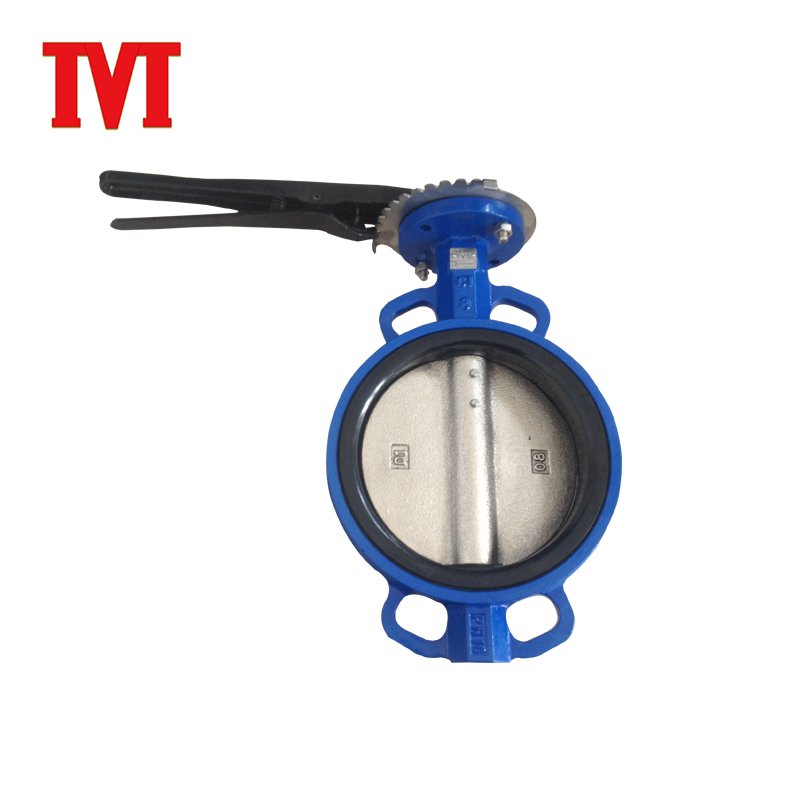 wafer motorized butterfly valve electric seat ring