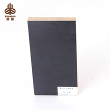 China Factory Black Colour 18Mm Waterproof Laminated Commercial Plywood For Home Decoration