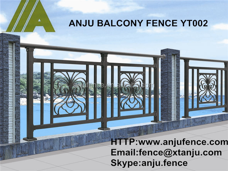 Iso certificated balcony steel grill designs yt buy