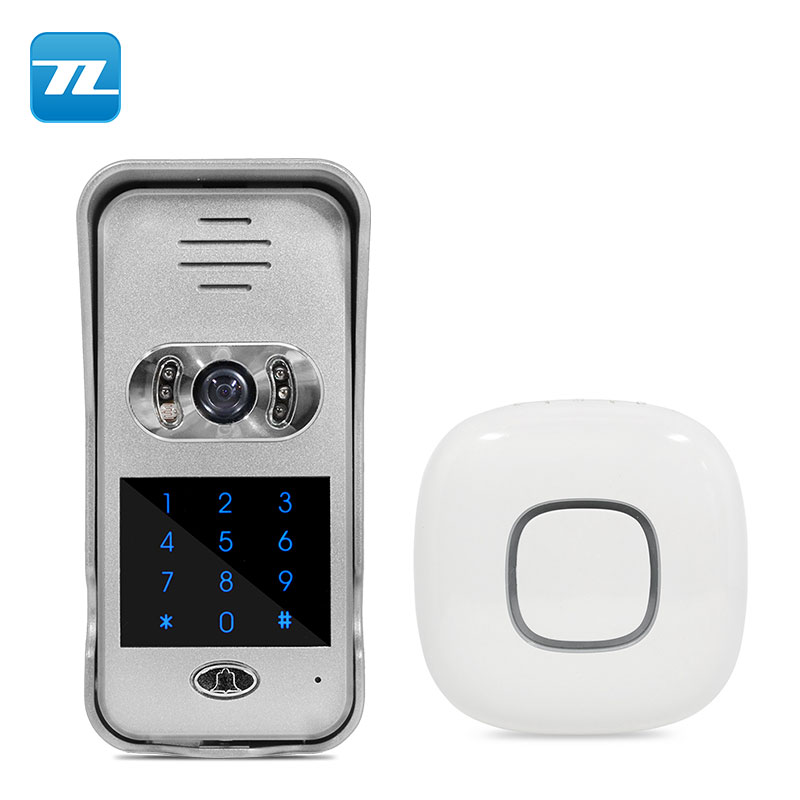 remote view two ways Wifi wireless smart wifi doorbell camera/ wireless video doorbell TL-WF02