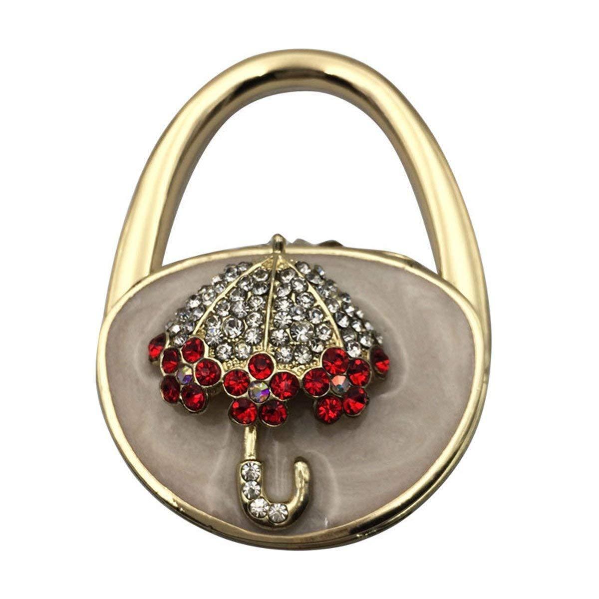 Purse Hook Desk Folding Handbag Holder Caballos Travel Purse Holder for Table