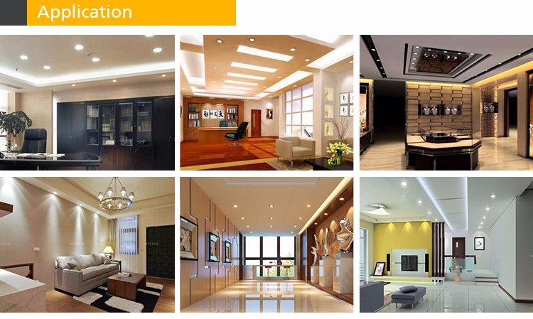 New Design SAA RoHS CE Approved 3 *5W LED Ceiling Lights