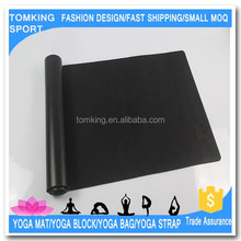 Fitness wonderful anti slip yoga mat PU leather yoga mat manufacturer