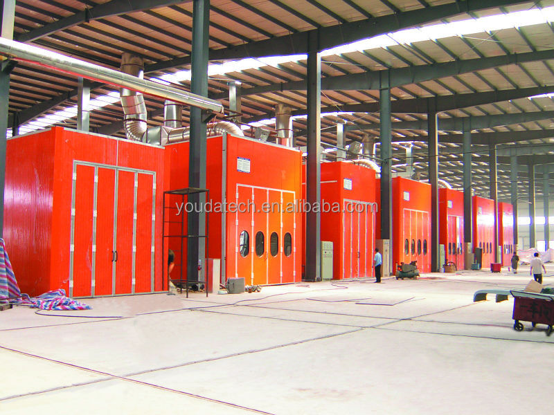 Automotive Paint Spray Booth,Large Equipment Bus Truck ...