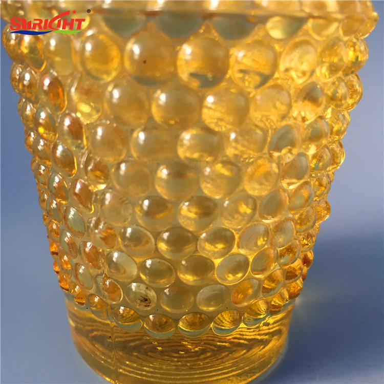 Pineapple Texture Hand Held Very Cheap Stock Votive Glass Candle Holder