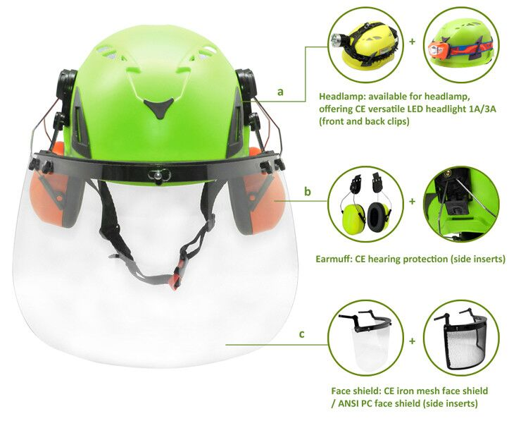 Hot selling dubai safety helmet with CE EN 397 certificate