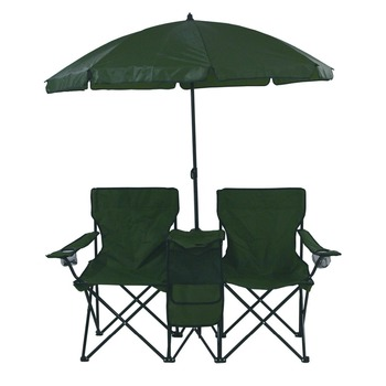 Fantastic Portable Picnic Double Folding Chair With Umbrella And Cooler Buy Folding Chair Double Folding Chair With Umbrella Double Folding Chair With Cooler Gmtry Best Dining Table And Chair Ideas Images Gmtryco