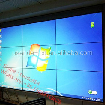 42 Inch Hd 4k Resolution Ultra Thin Stage Lcd Video Wall Display Screen  Large Advertising Screen - Buy Lcd Video Wall Display,Led Commercial