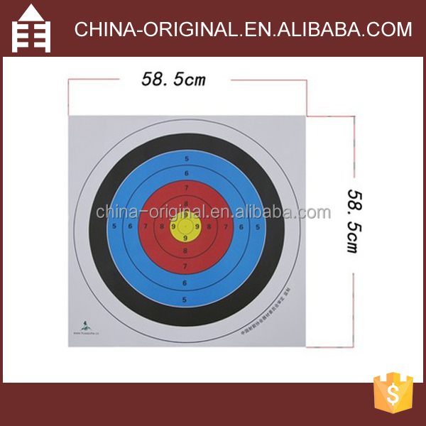 2016 Archery Arrow target Paper target shooting paper target sticker paper