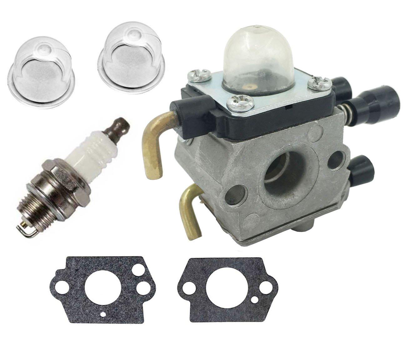 Get Quotations · Carburetor for Stihl FS80 Carburetor - STIHL FC55 FC75  FC85 FS310 FS38 FS45 FS45C FS45L FS46