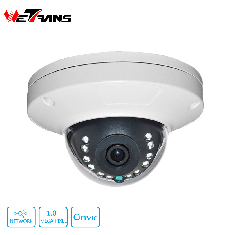 TR-EIPD116 Vandal Proof Metal Shell 720P IP Camera Dome vandalproof 12 IR LED Internet Network Camera