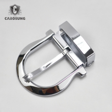3.5cm Silver Solid Brass Belt Pin Buckle for Women