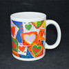 Sunny 0936 Facial Expression 3D Embossed Sublimation Coffee Mug