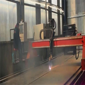 cnc wheel plate flame cle cutting-off cutting machine for metal diameter