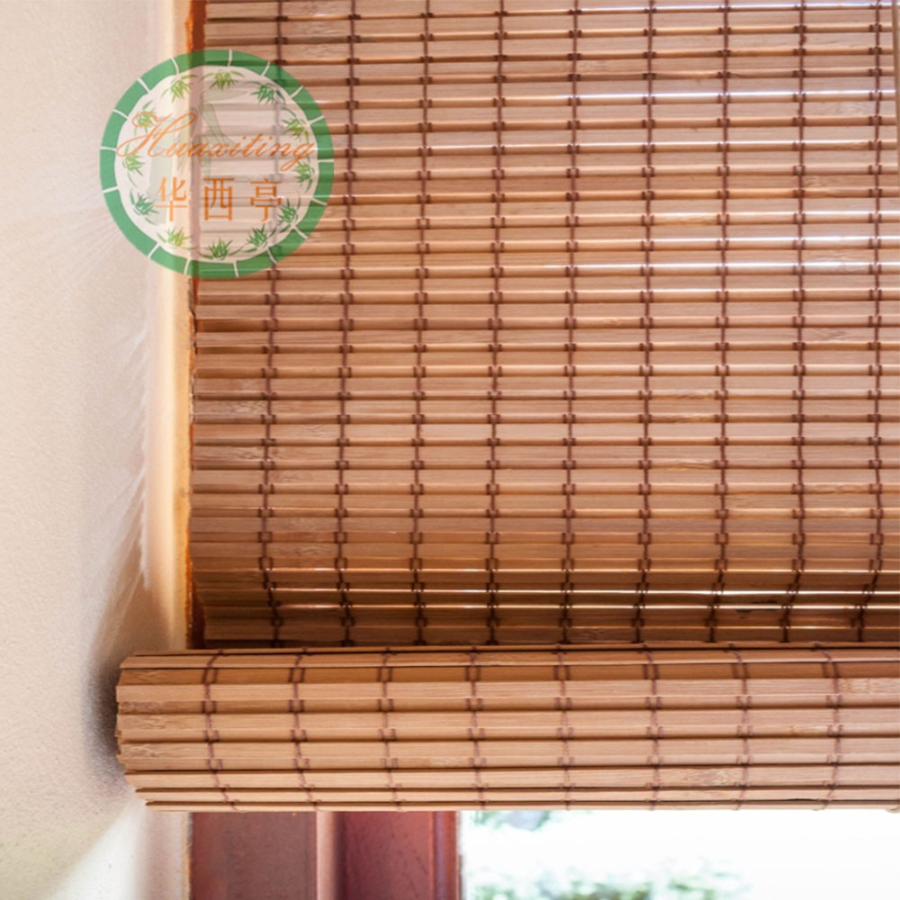 Nature Bamboo Tigered Outdoor Bamboo Blinds Window Bamboo