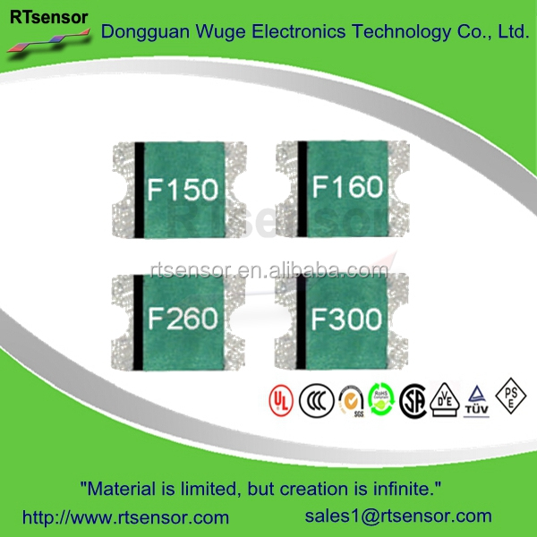Fsmd260r 2.6a 8v 100a 1w 1812 Smd Resettable Pptc Ptc Thermistor ...