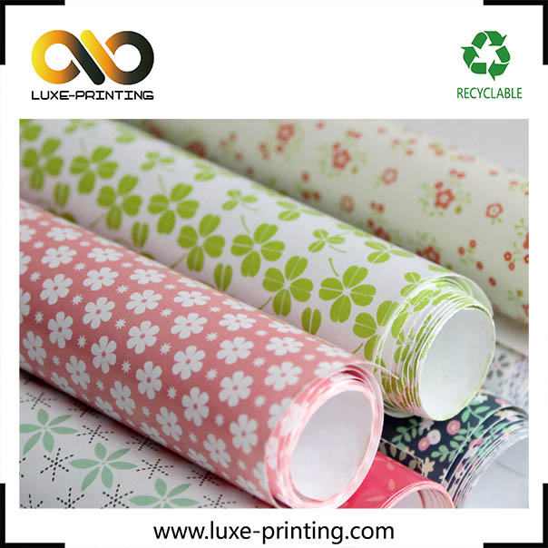 wholesale toilet roll wrapping paper with your own logo design