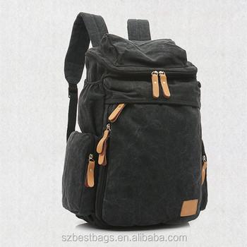 2df5b04b24b Outdoor Unisex Canvas Backpack College Bookbag Rucksack Traveling Knapsack  Vintage Style Bag For Men/women/college/teen - Buy Canvas Backpack,Outdoor  ...