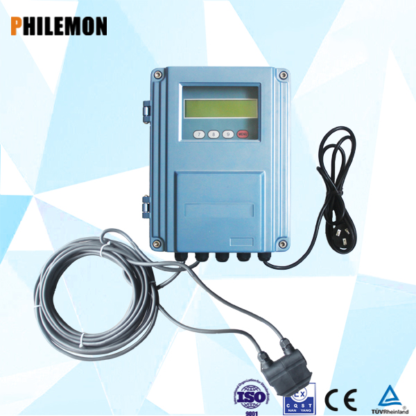 China portable air easy install ultrasonic flow meter