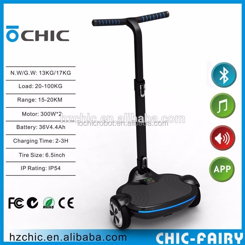 IO Chic Robot Hover Board electric scooter with handle Original Place Hangzhou <strong>City</strong> Hot Sale