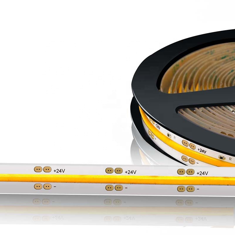 New product 640 LED per meter chip on board FOB COB LED strip light