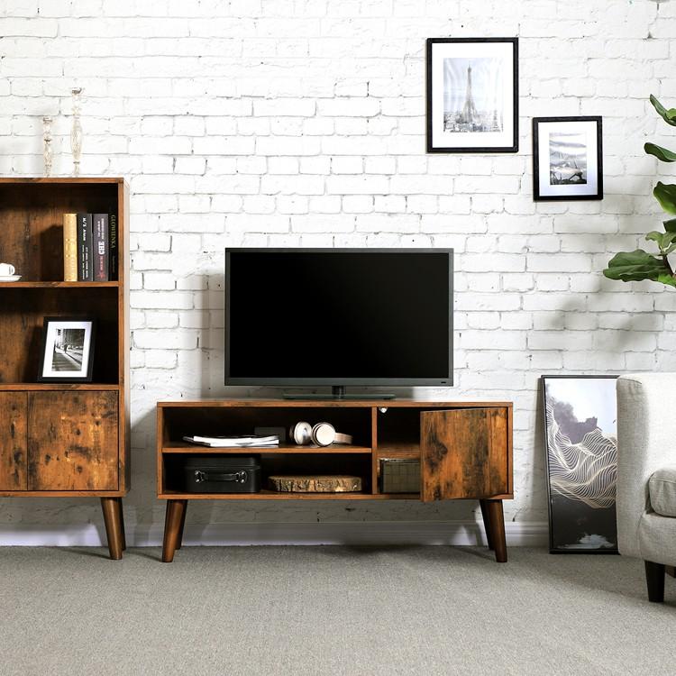 Nouveau Modèle Simple Moderne Salon Meubles En Bois Lcd Meuble De  Télévision Avec Vitrine - Buy Meuble Tv,Meuble Tv En Bois,Meuble Tv Product  on ...