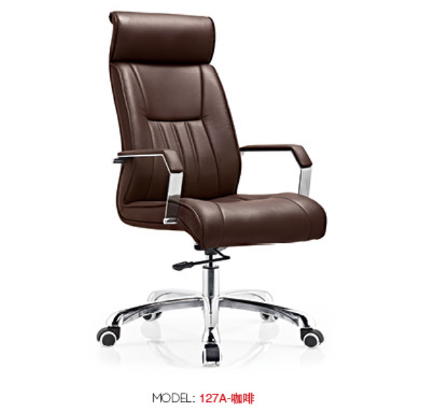 brown leather office chair brown leather office chair suppliers and manufacturers at alibabacom brown leather office chair