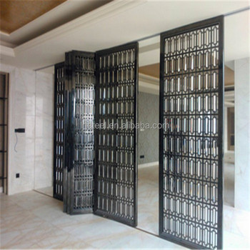 Metal Stainless Steel Sliding Doors Interior Room Divider