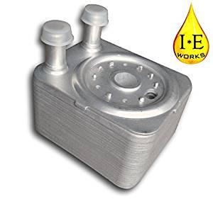 IE Works 038117021E New Engine Oil Cooler for TDI or 3.2L Audi Volkswagen