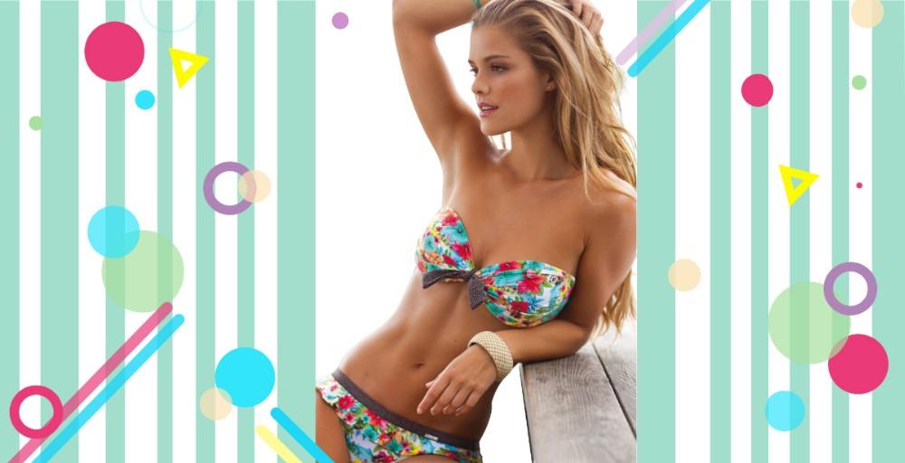 f4ffcd2ec2189 Free Sample Brazilian Bikini 2018 Swimwear Women Swimsuit Sexy Push Up  Underwear Swimming Bathing Suit Beachwear Bikinis Set
