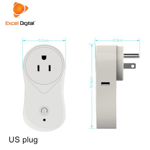 Excel Digital UK Power Strip Smart Wifi Plug Xiaomi Smart Home Plug