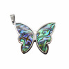 Butterfly Abalone Shell Pendant HPYP2817
