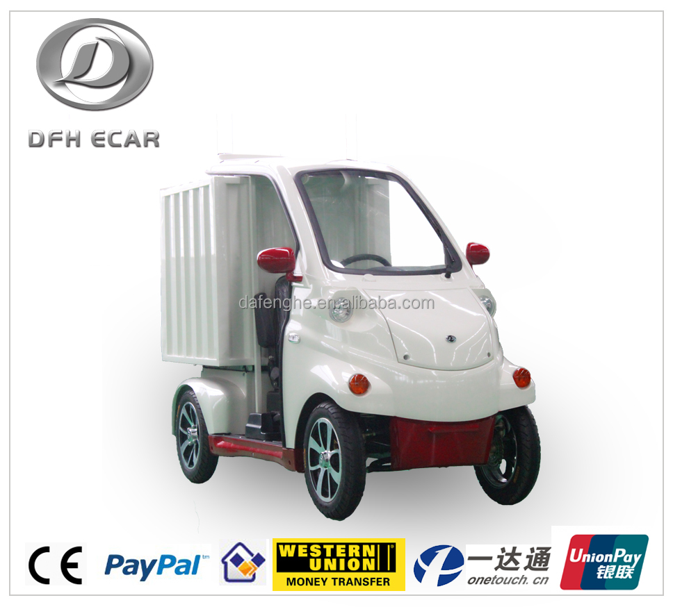 2017 new design small electric delivery car