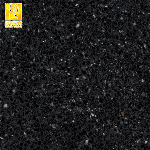Outdoor Star Black Terrazzo Floor And Wall Tiles